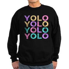 Pastel YOLO Sweatshirt