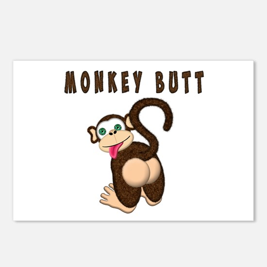 Monkey Butt New Begining Postcards (Package of 8)