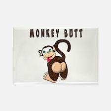 Monkey Butt New Begining Magnets