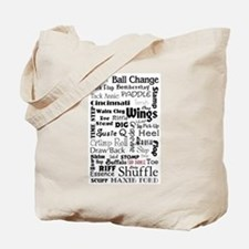 Tap Steps Collage Tote Bag