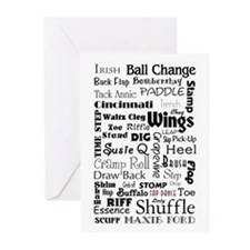 Tap Steps Collage Greeting Cards (Pk of 10)
