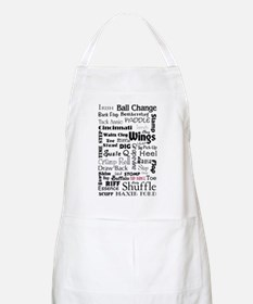 Tap Steps Collage BBQ Apron