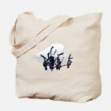 Head Down Free Fly Skydive Tote Bag