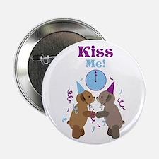 """Kiss Me! 2.25"""" Button"""