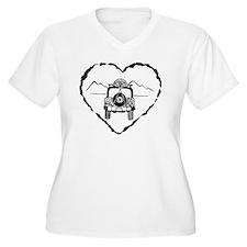 Jeep Love B&W T-Shirt