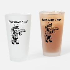 SWAT Team Officer Drinking Glass