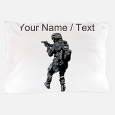 SWAT Team Member Pillow Case