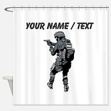 SWAT Team Member Shower Curtain