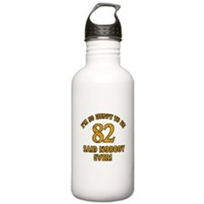 Funny 82 year old gift ideas Water Bottle