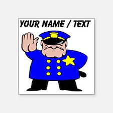 Mean Policeman Sticker