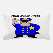 Mean Policeman Pillow Case