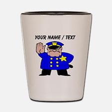 Mean Policeman Shot Glass