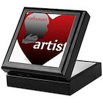 Art Takes Heart Keepsake Box