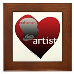 Art Takes Heart Framed Tile