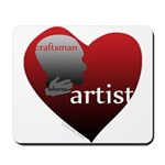 Art Takes Heart Mousepad
