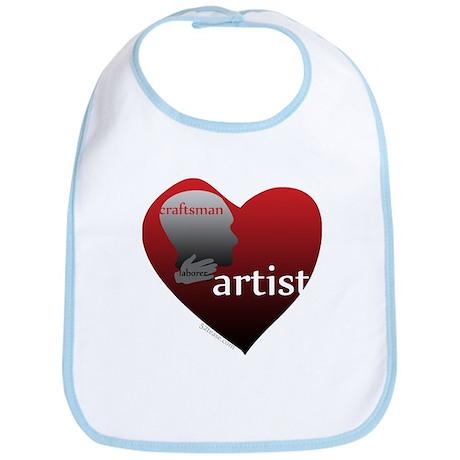 Art Takes Heart Bib