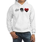 Art Takes Heart Hooded Sweatshirt
