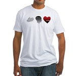 Art Takes Heart Fitted T-Shirt