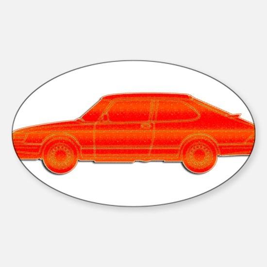Saab Profile Decal