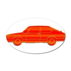 Saab Profile Wall Decal