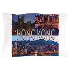Hong Kong Pillow Case