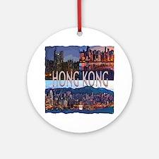Hong Kong Ornament (Round)