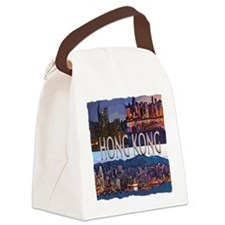 Hong Kong Canvas Lunch Bag