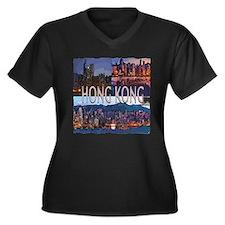 Hong Kong Plus Size T-Shirt
