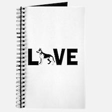Love dogs Journal