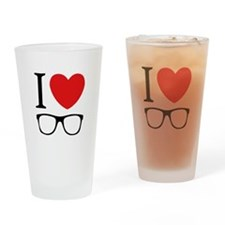 I Love Drinking Glass