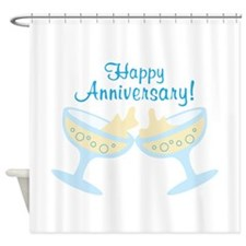 Happy Anniversary! Shower Curtain