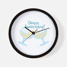 Happy Anniversary! Wall Clock