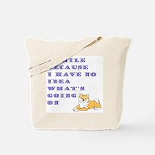 I Smile Tote Bag