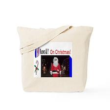 Santa Knows All Tote Bag