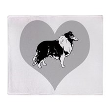 Love Collies Throw Blanket