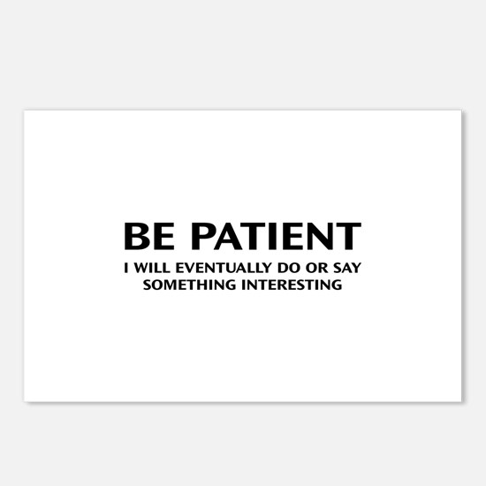 Be Patient Postcards (Package of 8)