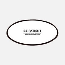 Be Patient Patches