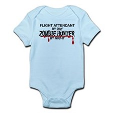 Zombie Hunter - Flight Attendant Infant Bodysuit