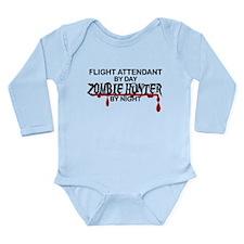 Zombie Hunter - Flight Attendant Long Sleeve Infan