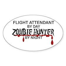 Zombie Hunter - Flight Attendant Decal