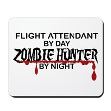 Zombie Hunter - Flight Attendant Mousepad