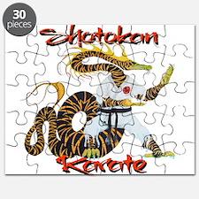 Shotokan Karate Dragon Design Puzzle