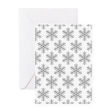 'Snowflakes' Greeting Card