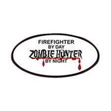 Zombie Hunter - Firefighter Patches