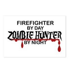 Zombie Hunter - Firefighter Postcards (Package of