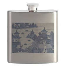 PORCELAIN CHINA ANTIQUE Flask