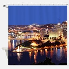 Pittsburgh Shower Curtain