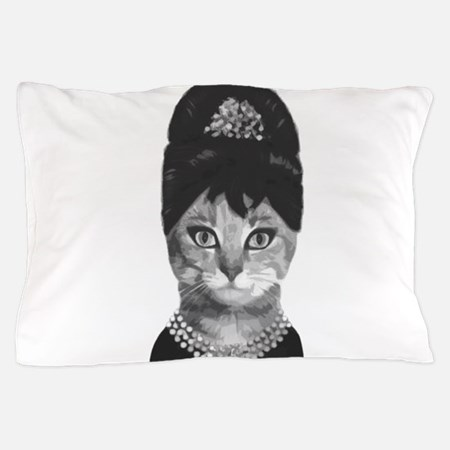 Diva Cat Pillow Case
