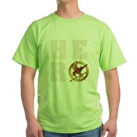 Hunger Games Hero Green T-Shirt