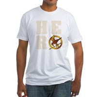 Hunger Games Hero Fitted T-Shirt